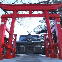 Oma Inari Shrine and Tenpi Shrine
