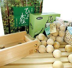 【Natural Aomori Hiba (Japanese Cypress) Products】
