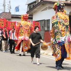 【July 16 2018】The Big Catch Prayer Festival and The Tenpi Procession on Marine Day