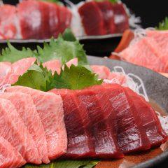 【大間黑鮪魚料理】