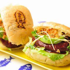【黑鮪魚漢堡】