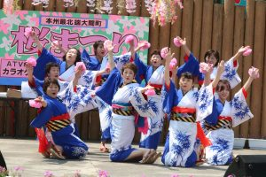 大間郷土芸能保存会の踊り