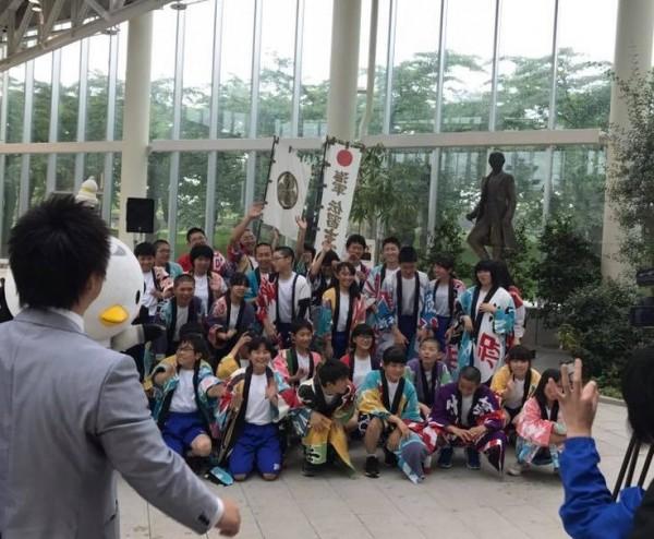 奥戸中学校のPR活動