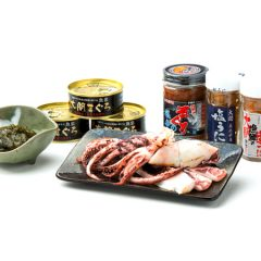 【Tuna, Eel, and Mozuku Processed Goods】