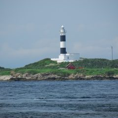 Benten Island and Omazaki Lighthouse